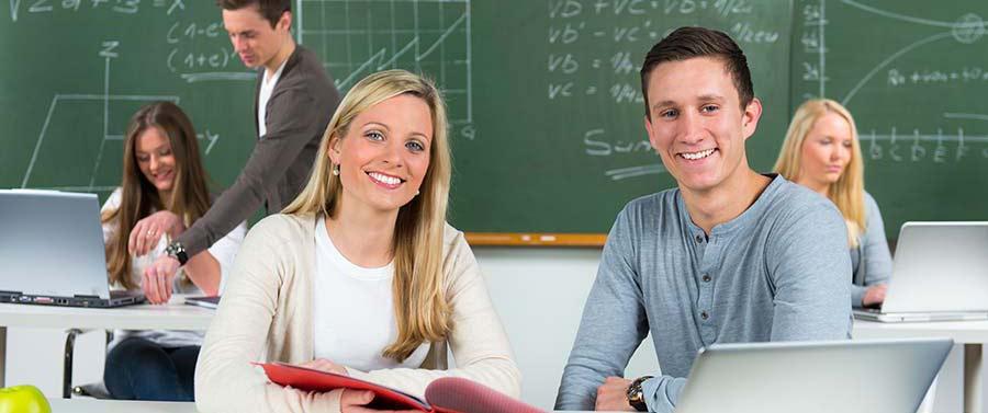Schüler lernen erfolgreich